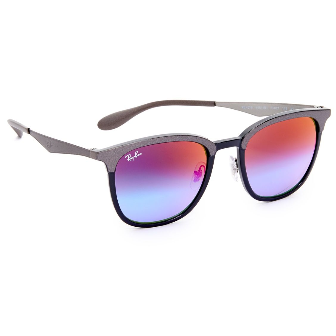 Ray-Ban Mens Square Sunglasses   Squares, Ray ban sunglasses and Shapes
