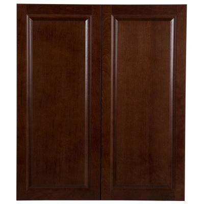 Best Hampton Bay Benton Assembled 36X42X12 In Wall Cabinet In 640 x 480