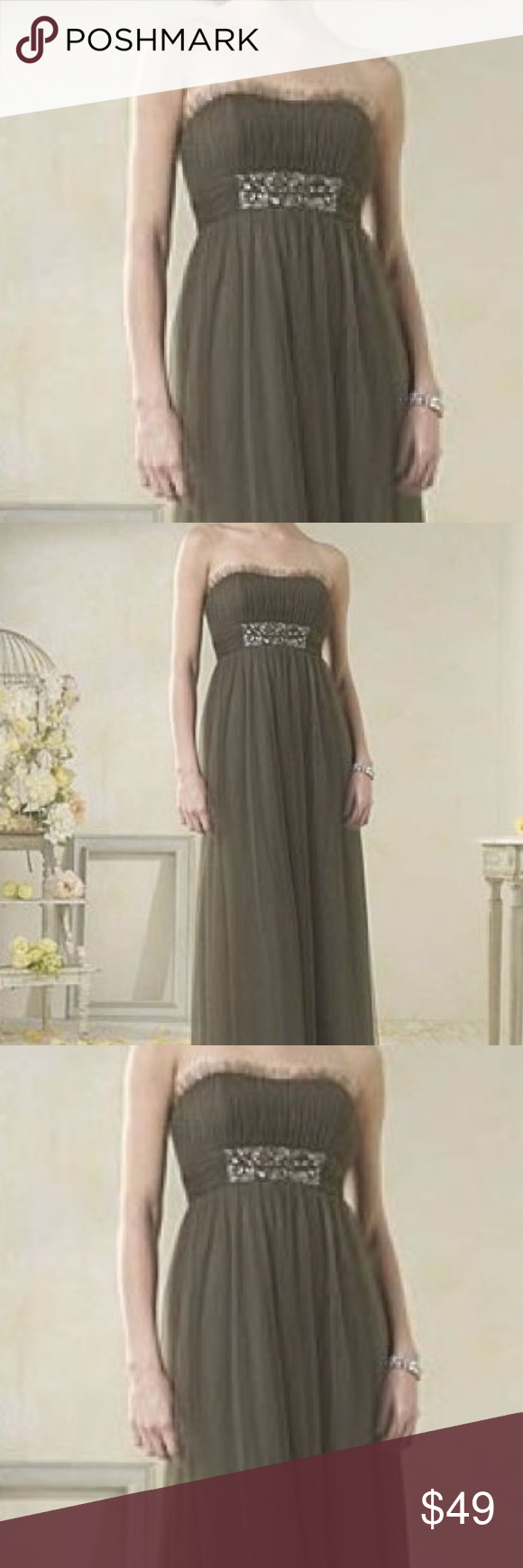 Alfred angelo bridesmaid dress style l boutique