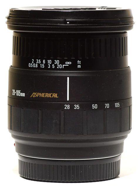 Sigma Af 28 105mm F2 8 4 Aspherical Zoom Lens Minolta Maxxum Sony A900 Zoom Lens Lens Camera Lens