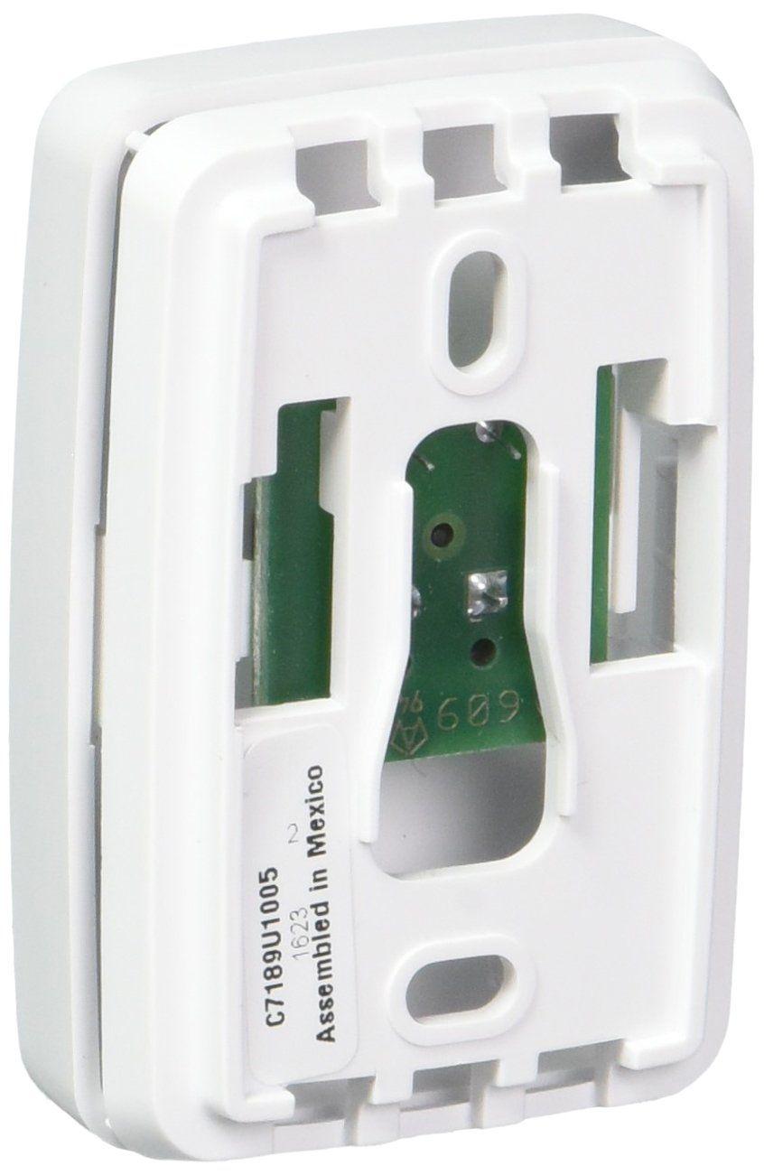 Honeywell c7189u1005 white indoor remote temperature