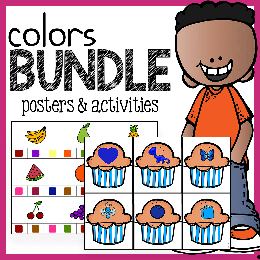 6 Fun And Easy Preschool Color Activities Free Download