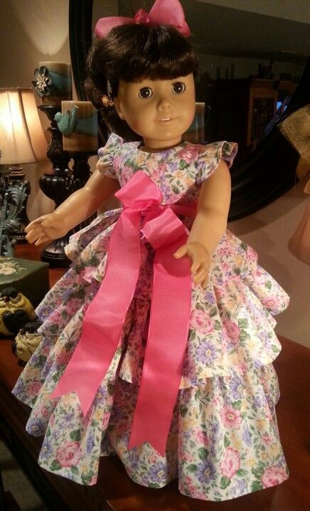 Ruffled Dress made with Butterick Retro Pattern   A Doll is Born ...