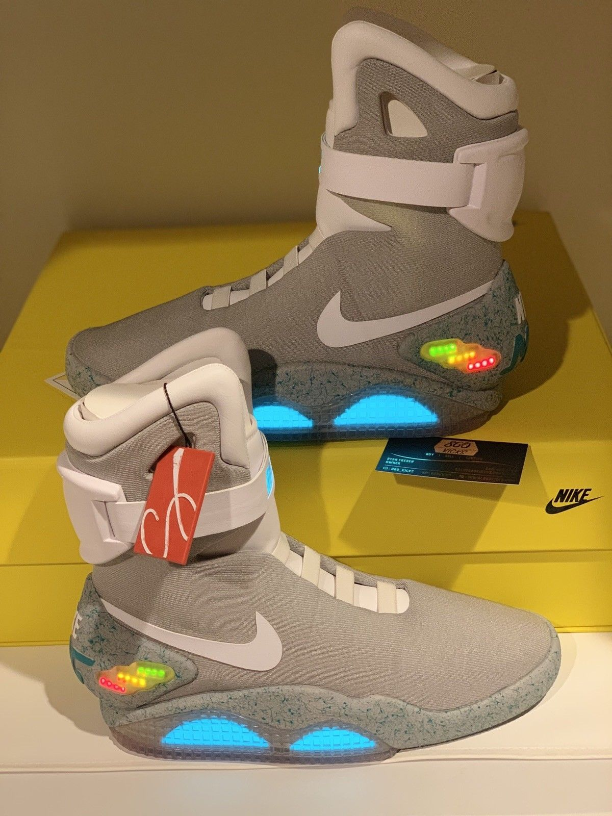 2011 Nike Air Mag Back To The Future Marty Mcfly Brand New