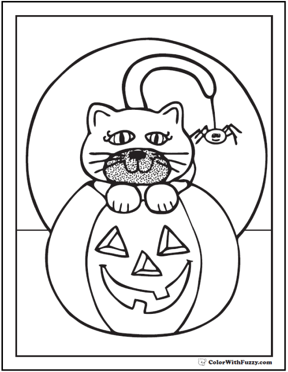 Disney Halloween Coloring Pages Pdf : Halloween printable coloring pages customizable pdf