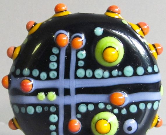 Yet More Random ThoughtsHandmade Lampwork Glass by beadygirlbeads, $32.00
