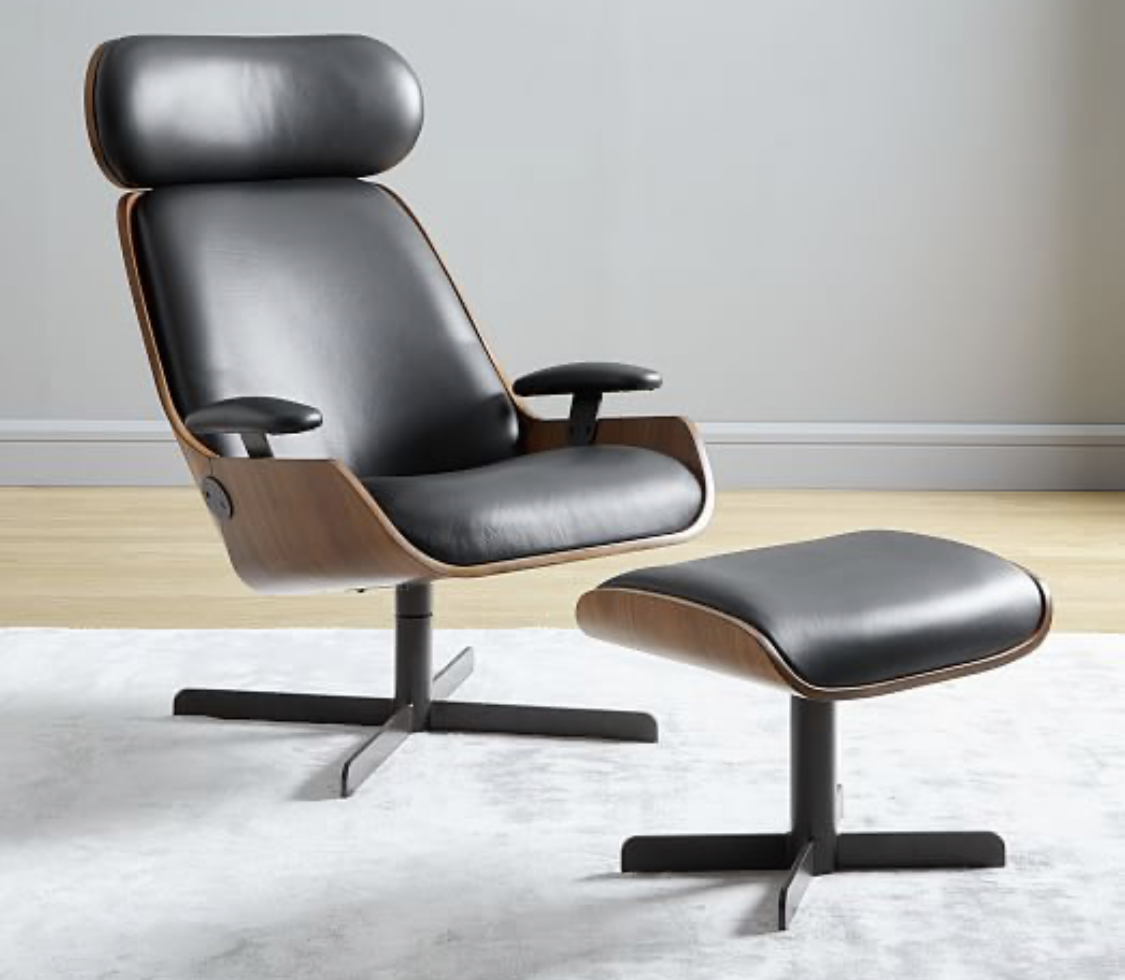 Pin by Mary Bates on Home Leather swivel chair, Swivel