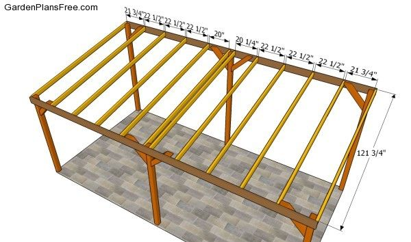 Carport Plans Free Free Garden Plans How To Build Garden Projects Carport Plans Carport Wooden Carports