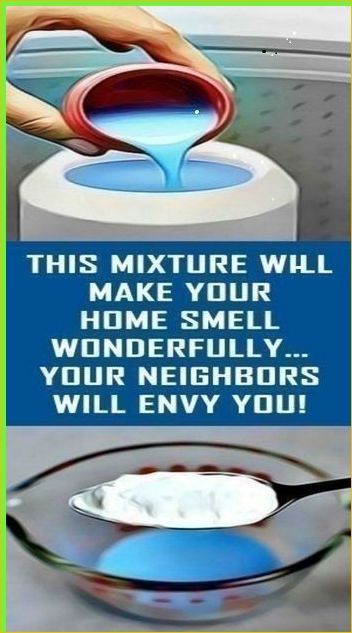 This Mixture That Will Make Your Home Smell So Won