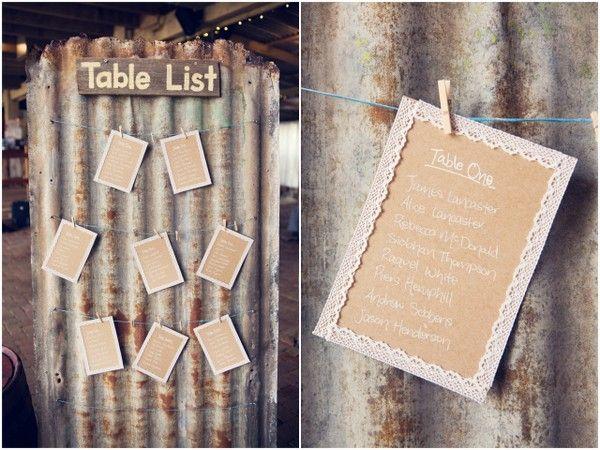Diy Wedding Seating Chart Ideas  Rustic Seating Chart Ideas