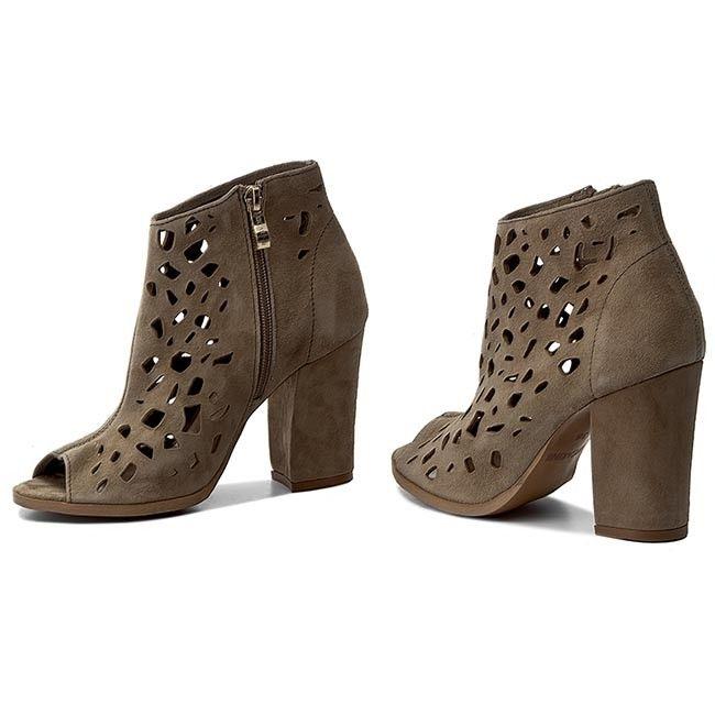 Botki Carinii B3976 I94 000 000 C36 Boots Shoes Ankle Boot