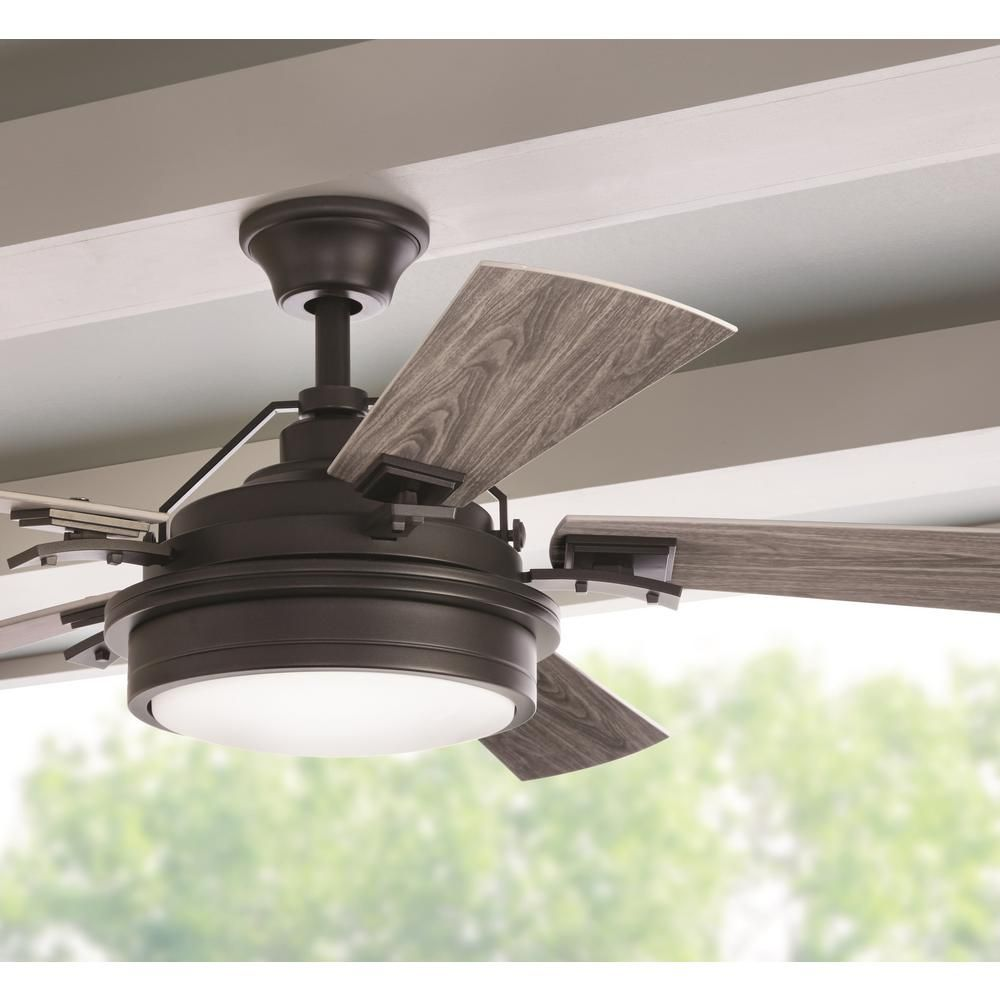 The Home Depot Logo Ceiling Fan With Light Ceiling Fan Rustic