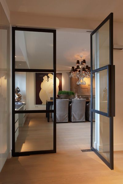 Image Result For Powder Coated Contemporary Glass Doors With