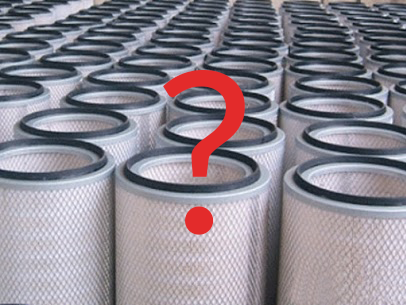 Looking for your dust collector filter? You can search by
