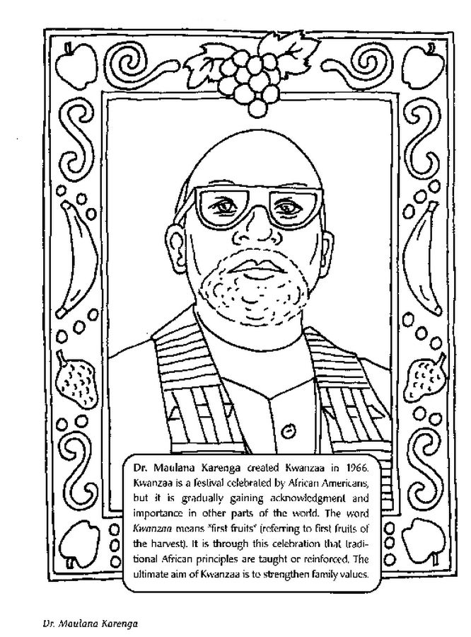Black History Month Coloring Pages | Pinterest