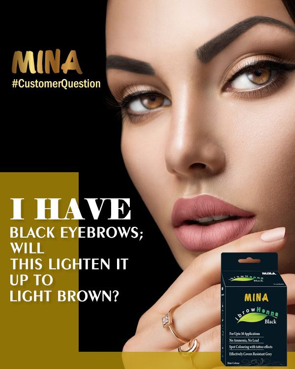 Eyebrow henna is the natural product without hydrogen peroxide or ammonia which are used o lighten the brows and may damage them. Mina IBrow Henna is a natural product and will never lighten.    #customerquestion  #Minahenna #henna #eyebrowhenna #eyebrowtinting #tint #tinting #brows #browtinting #browtint #eyebrowcolor #minabrowhenna #naturalcolour #eyebrowcolour #browcolour #naturalbrowcolour #browtinting #lovebrows #henna #browshaping #minahennabrows