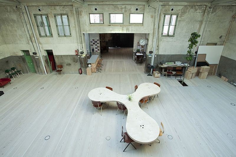 Hub Offices In Madrid Ch Qs Arquitectos Co Working Space