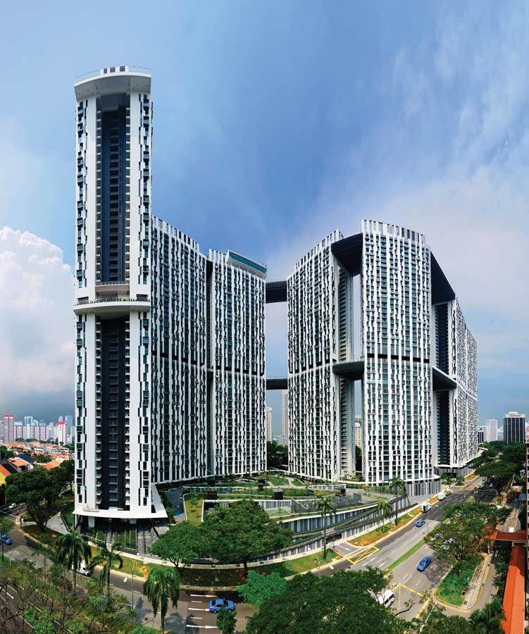 Duxton public housing, Singapore