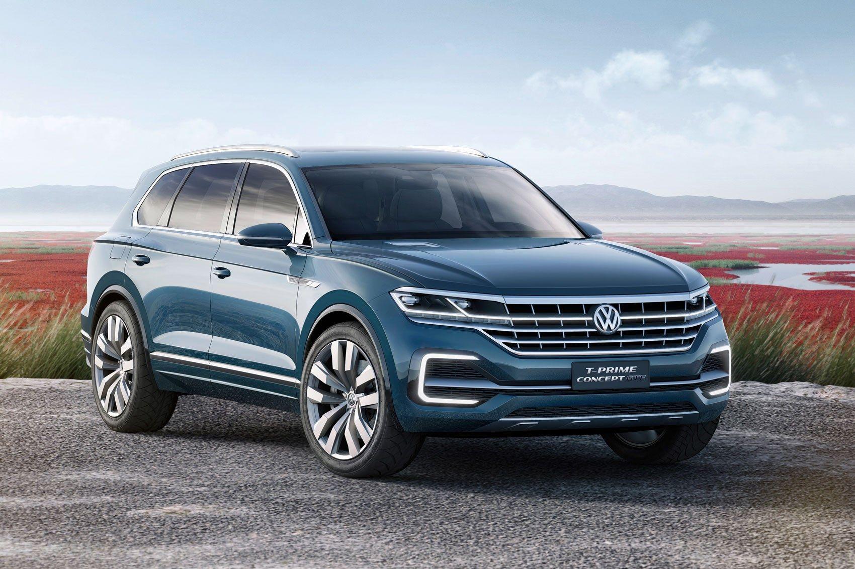 2018 Volkswagen Touareg Volkswagen