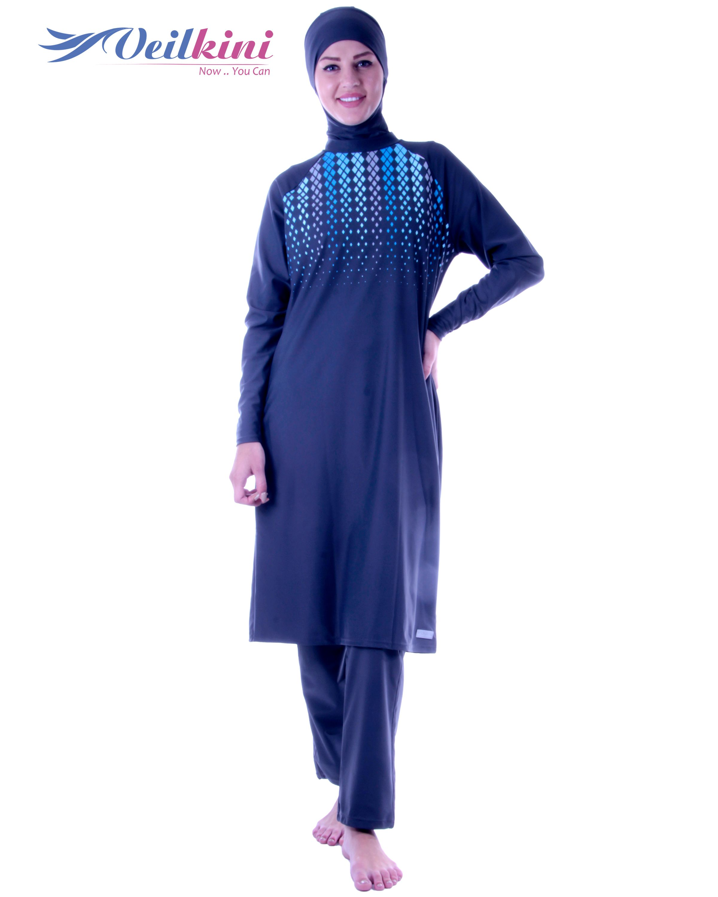 2693170364c Long Cover #burkini #veilkini #burqini | Veilkini Swimwear | Muslim ...