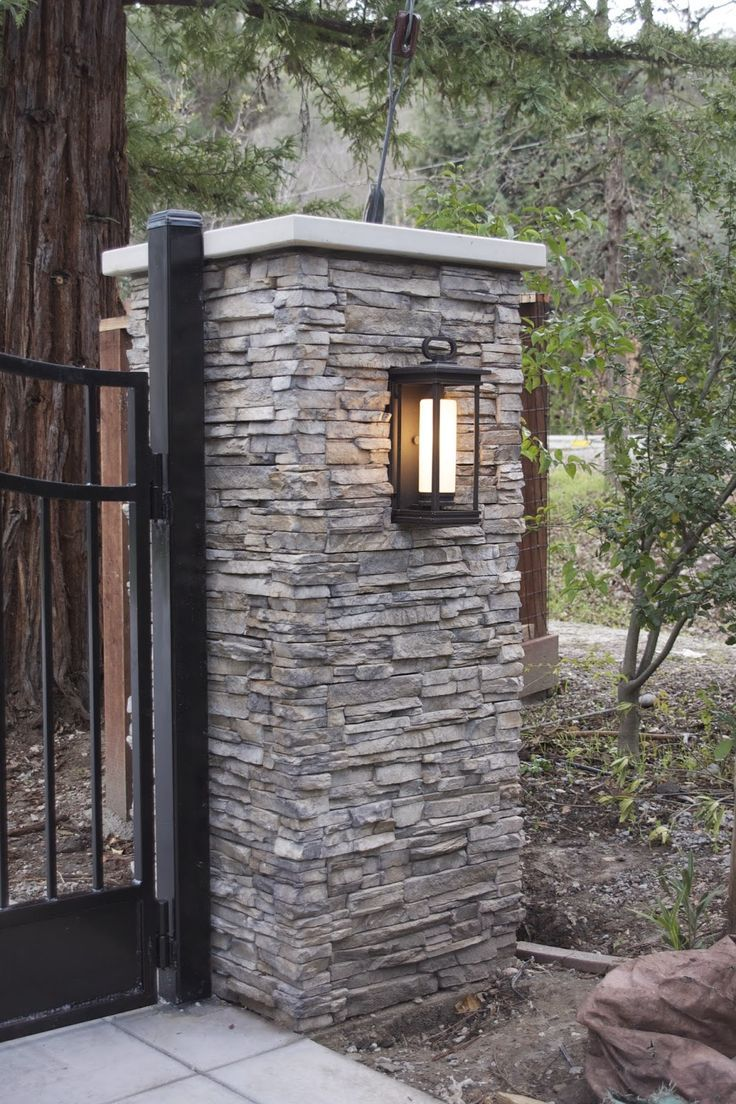 Driveway Lights Guide: Outdoor Lighting Ideas + Tips ... |Driveway Entry Lights