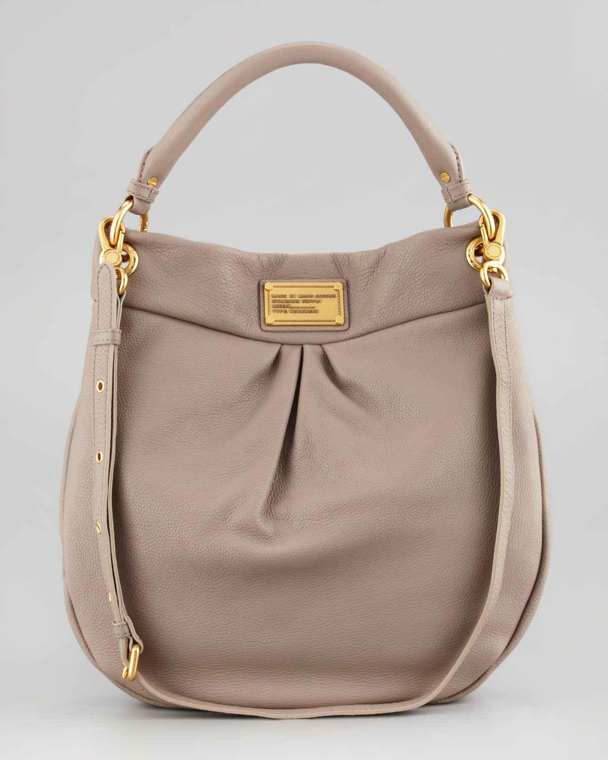 Classic Q Hillier Hobo Bag, Beige by Marc By Marc Jacobs at Neiman Marcus.