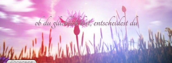 Ob Du Glucklich Bist Fb Covers Cover Photo Quotes Fb Cover