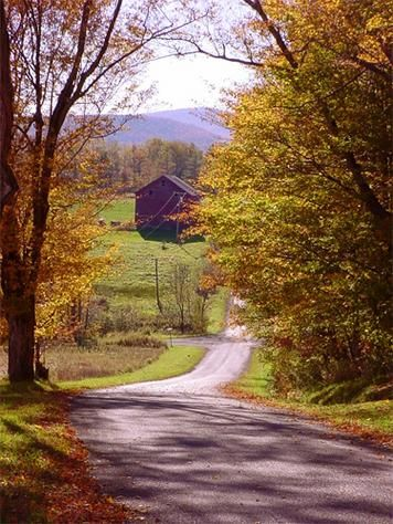 """country road....take me home"""