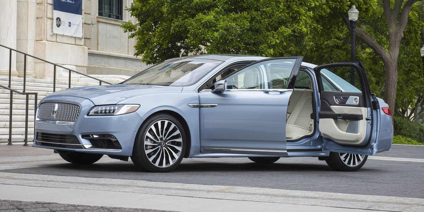 2020 Lincoln Continental Coach Door Edition Priced At 116 645 Lincoln Continental Lincoln Lincoln Aviator