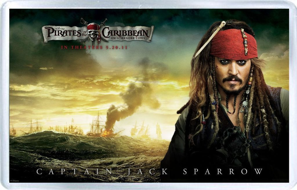 Pirates Of The Carribean (Johnny Depp)