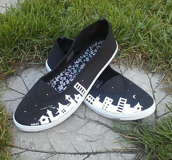 canvas shoes handpainted , Google Search