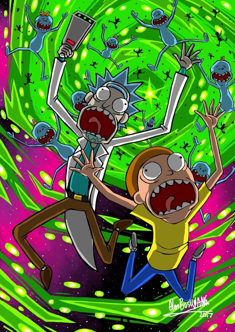 Rick And Morty Glenbw Rick Morty Poster Rick Morty Pertaining To Rick And Morty Wallpaper Devian Rick And Morty Poster Cartoon Wallpaper Rick And Morty Drawing