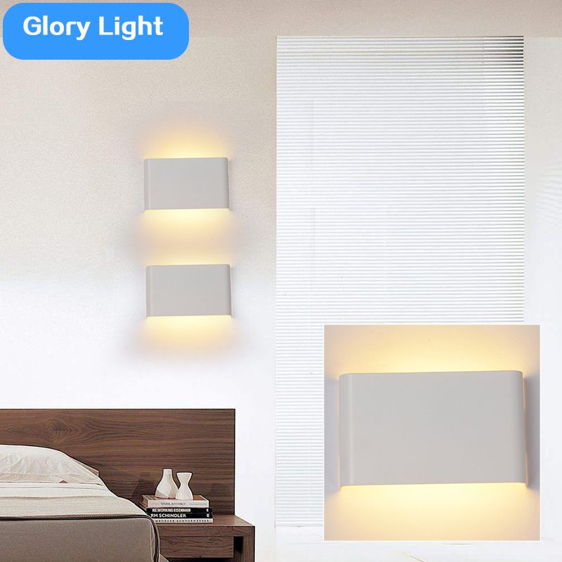 Glory Light Up Down Bedroom Led Wall Lamps Bathroom Aisle Mirror Lights  Corridor Hallway New Creative