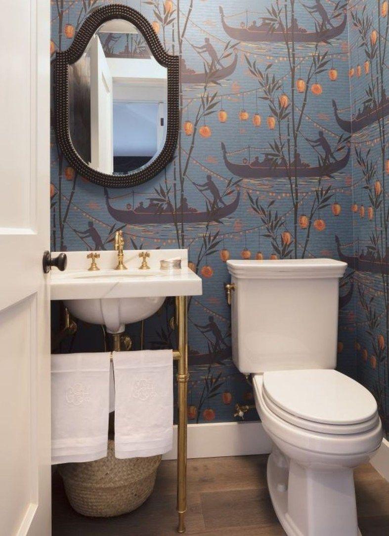Awesome Small Powder Room Ideas 02 Bathroom In 2019