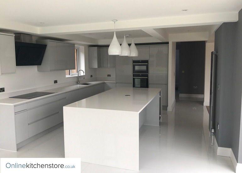 Best Remo Gloss Dove Grey Kitchen Online Kitchen Store 640 x 480