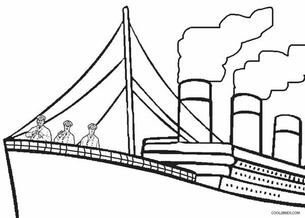 Printable Titanic Coloring Pages For Kids | Cool2bKids | THE ...