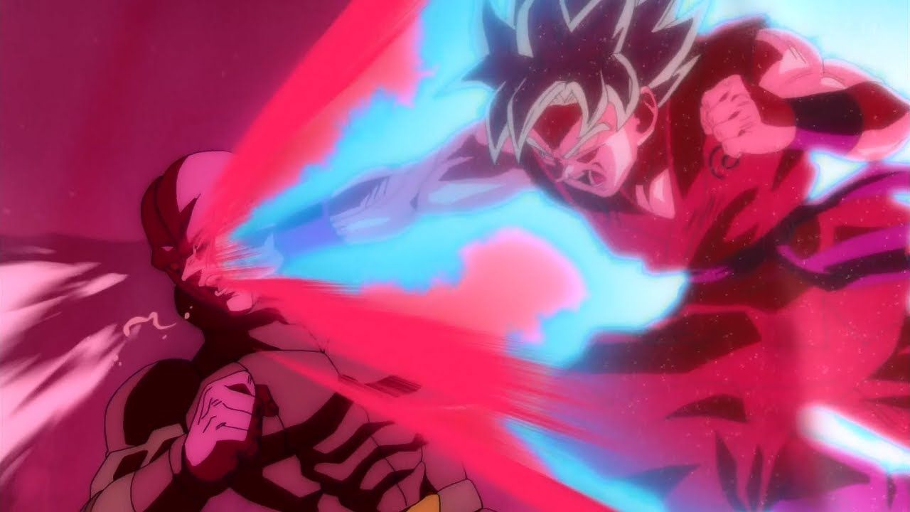 Goku Vs Hit Full Fight English Sub Goku Super Saiyan God Anime Dragon Ball Super Goku Super Saiyan