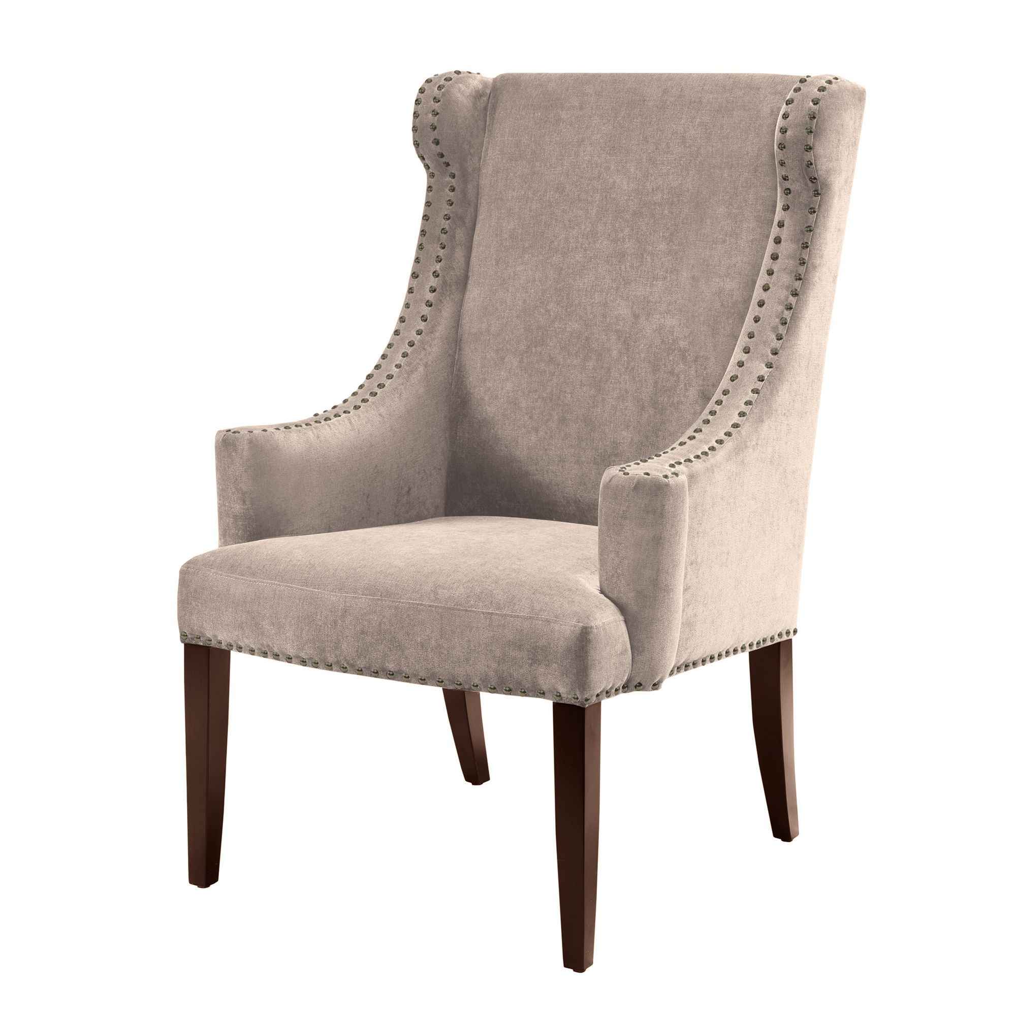 Add This Stylish Piece To Your Decorating Mix As An Updated Accent Pleasing High Back Living Room Chair Decorating Design