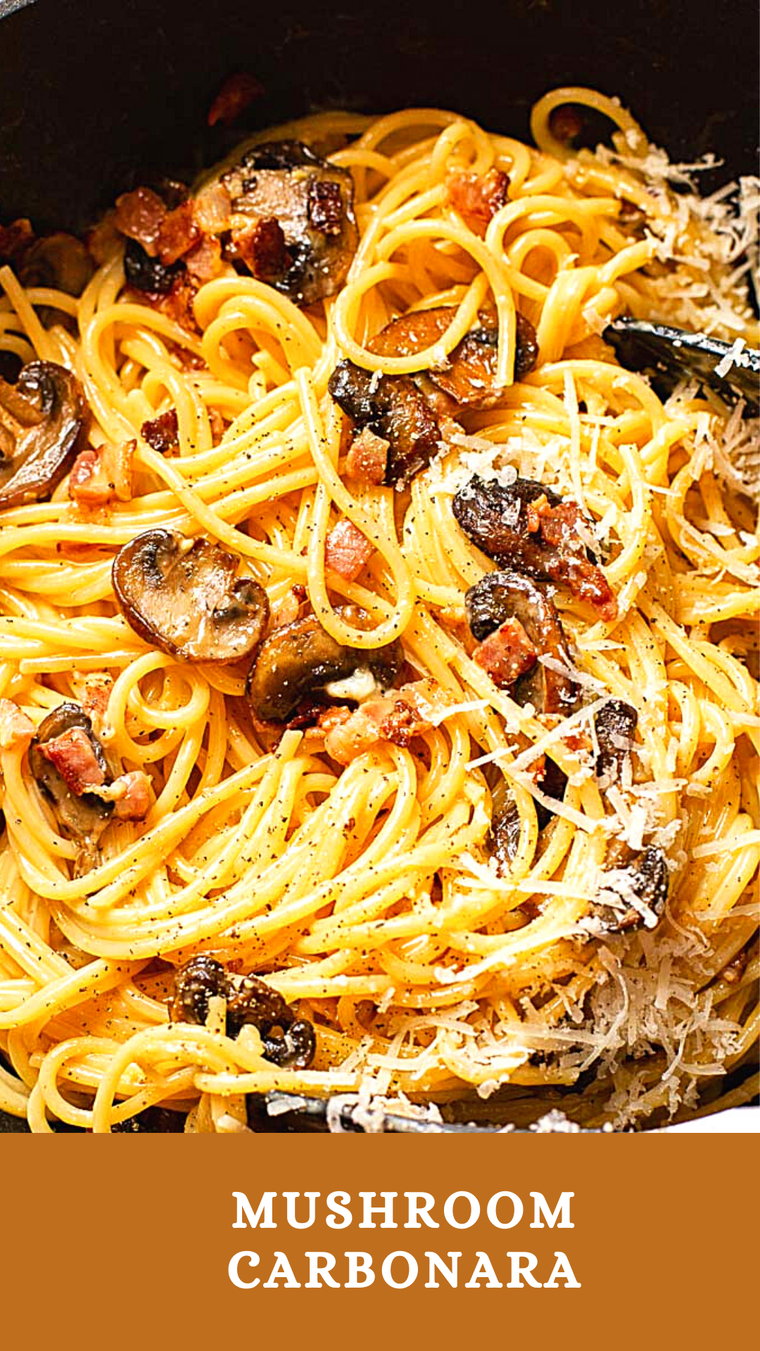 Photo of Mushroom Carbonara