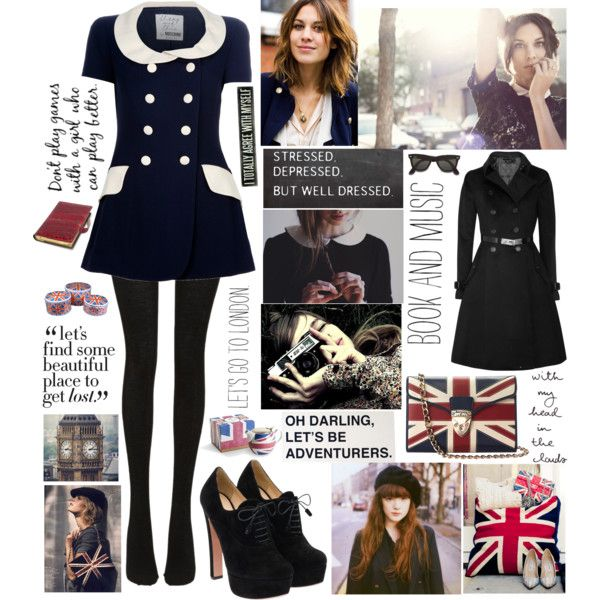 let's go to London, created by misslenny on Polyvore