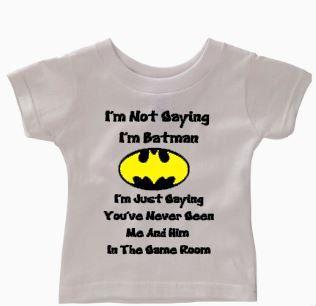 28d81106 I Am Not Saying I Am Batman // baby t-shirt// cute onesie// funny onesie//  baby boy onesie