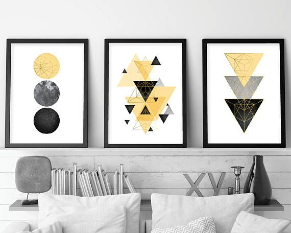 Trending now art set of 3 prints 3 print set triptych