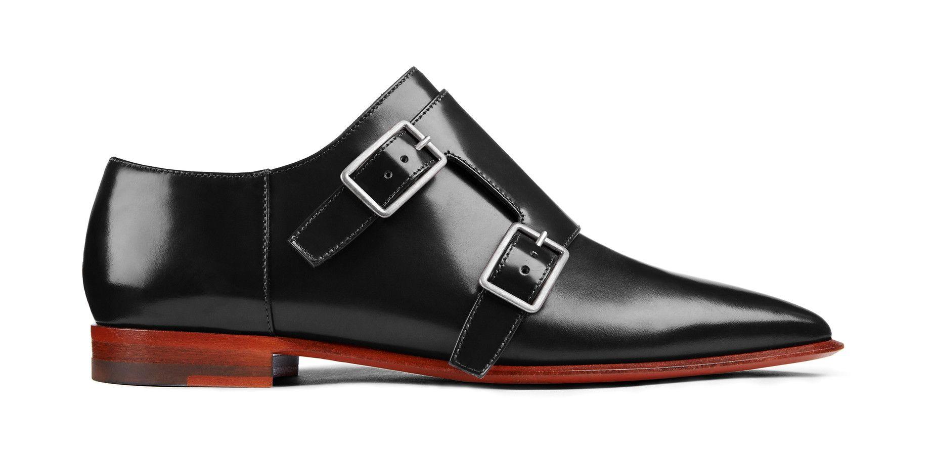 Acne Studios Masca black Monk strap shoes   Shoes   Shoes, Flats ... 8eb79a37046