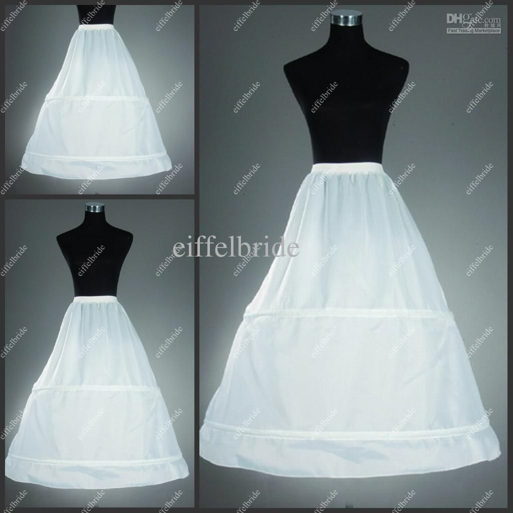 Bridal Wedding Gown Petticoat Skirt Slip Crinoline Petticoat Slip 5 ...