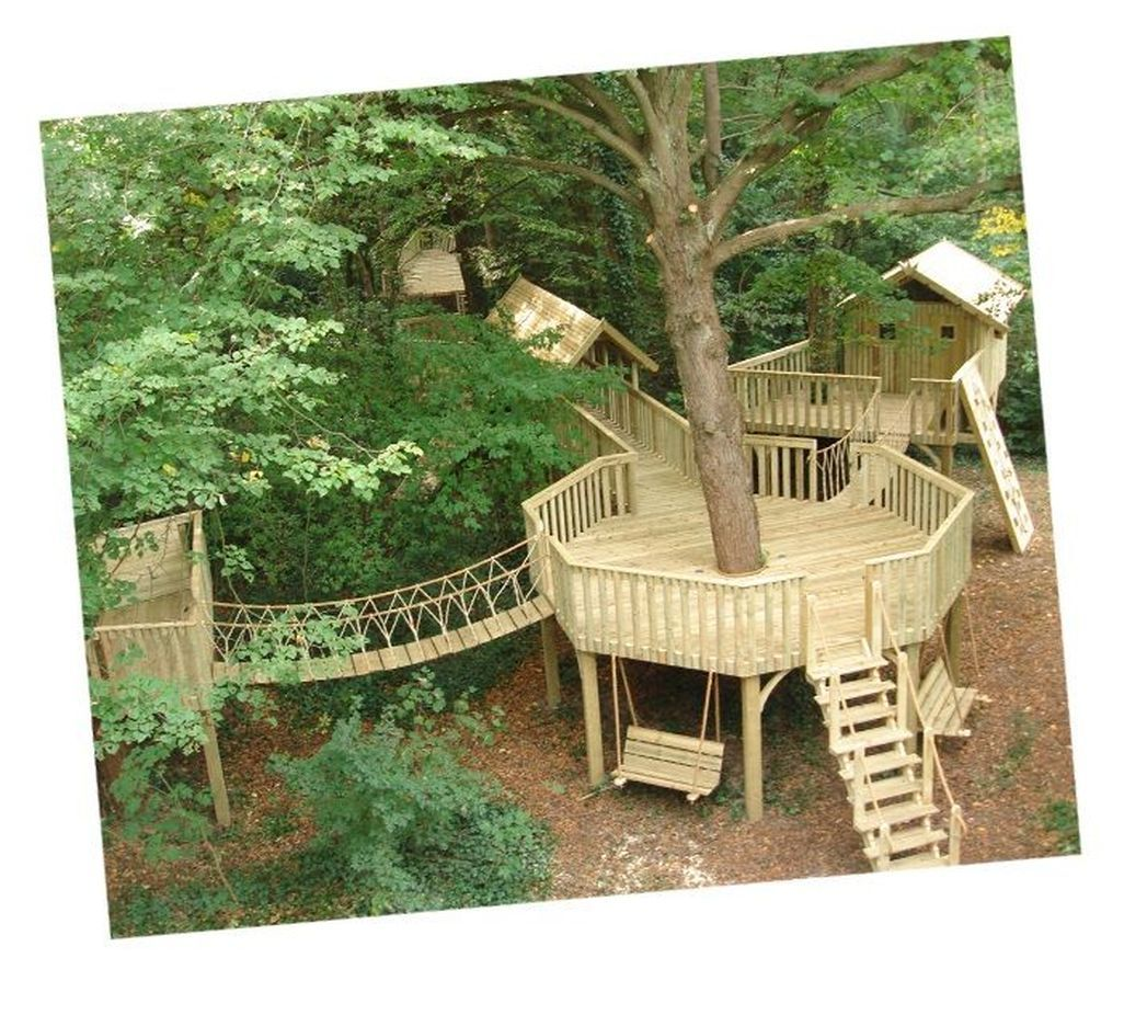 46 Awesome Treehouse Masters Design Ideas Will Make Dream