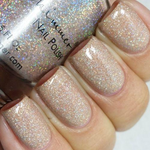 Kbshimmer A Hint Of Manilla Nail Polish Nail Polish Nails Glitter Nail Polish