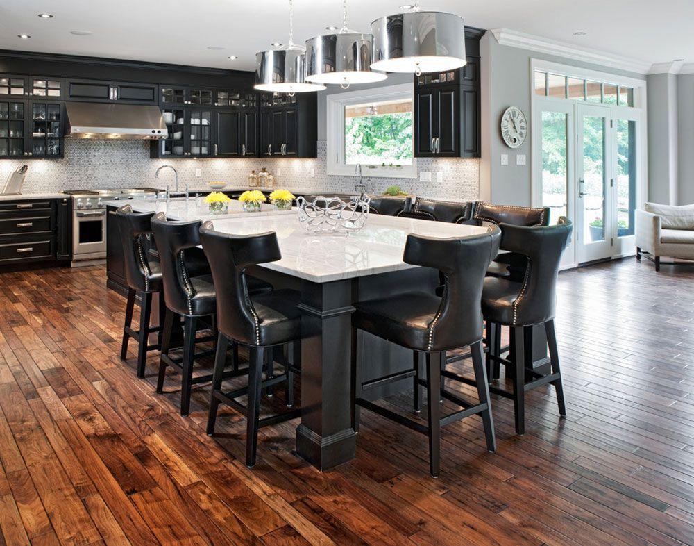 Modern Kitchen Island Designs With Seating | Modern ...