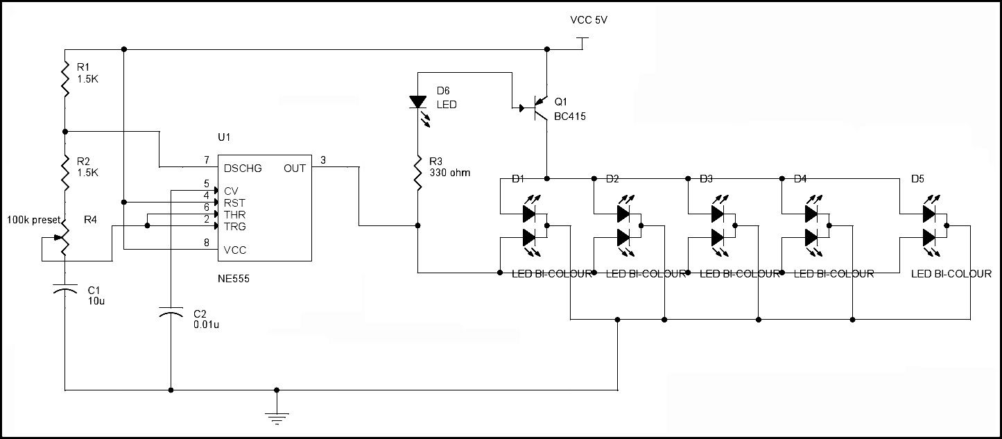 Led Blinking Circuits Electronics Pinterest Circuit And Astable 555 Timer Ic Flasher Diagram