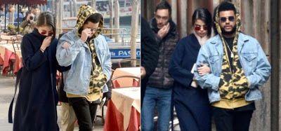 cotibluemos: Selena Gomez y The Weeknd, pareja del momento
