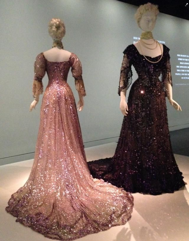 15 Haunting Mourning Fashions at the Met: French Mourning Dresses Worn by Queen Alexandra, 1902